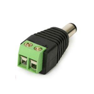 Adaptador Borne X Plug P4 Macho 2,1 X 5,5 X 14mm