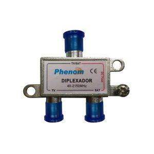 Diplexador Phenom VHF/UHF/SATELITE 40-2150 MHz