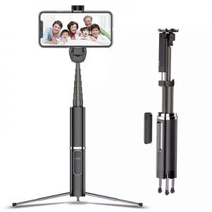 Bastão Pau De Selfie com Tripé Bluetooth - Phantom